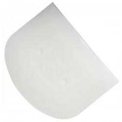 Шпатель кондит.; пластик; L=10, B=12см; белый