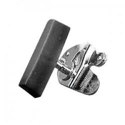 Открывалка для консервн. банок; сталь нерж., бук; H=6, L=17, B=10см; , коричнев.