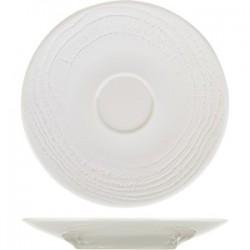 Блюдце для стакана 80мл «Арборесценс»; D=14см; цвет Ivory