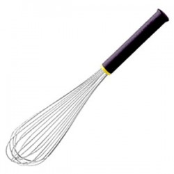 Венчик «Экзогласс»; сталь нерж., пластик; H=80, L=370/235мм; , черный