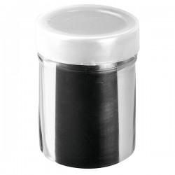 Емкость для сахарной пудры «Проотель»; сталь нерж.; 240мл; D=60, L=90, B=92мм;