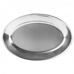 Блюдо овальное «Prohotel»; нержавеющая сталь, H=20, L=350, B=235мм;
