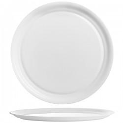 Блюдо д/пиццы «Интэнсити»; зеникс; D=330, H=18мм; белый