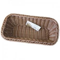 Корзина для хлеба; полиротанг; H=11, L=32, 5, B=17, 6см; коричнев.