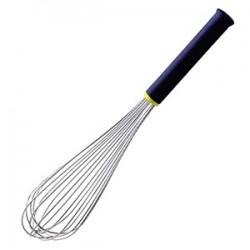 Венчик «Экзогласс»; сталь нерж., пластик; L=51/25см; , черный