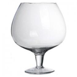 Ваза-бокал; стекло; 10л; D=17, H=34, 5см;