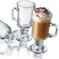 Бокалы для глинтвейна, латте и Irish Coffee