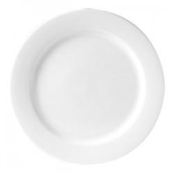 Блюдо «Монако»; фарфор; D=30, H=2см; белый