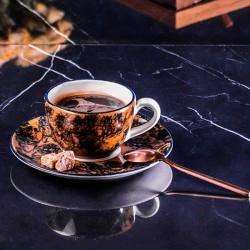 Чашка чайная «Aida»; 180мл; коричневая