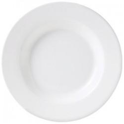 Тарелка глубокая «Монако»; фарфор; 300мл; D=220, H=35мм; белый