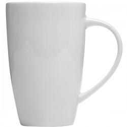 Кружка чайная «Монако»; фарфор; 285мл; D=75, L=105мм; белый