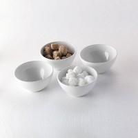 Салатник «Монако Вайт»; фарфор; 420мл; D=130, H=65мм; белый