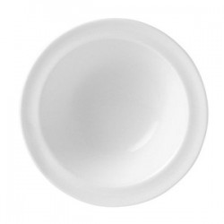Салатник «Монако Вайт»; фарфор; 130мл; D=13, H=4см; белый