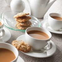 Чашка чайная «Монако»; фарфор; 340мл; D=100, H=75мм; белый