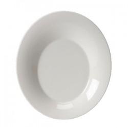 Салатник «Монако Вайт»; фарфор; H=20, L=125, B=105мм; белый