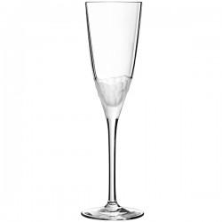 Бокал-флюте «Интуишн»; хр.стекло; 170мл; H=23, 5см; прозр.