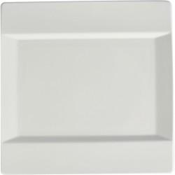 Блюдо квадратное «Фрейм»; фарфор; L=30, 5, B=30, 5см; белый