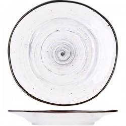 Блюдце для бульонной чашки Pastoral 15.5 см серое