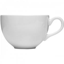 Чашка чайная «Монако»; фарфор; 340мл; D=10, H=7см; белый
