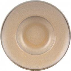 Тарелка для пасты «Агава»; фарфор; D=280, H=55мм; матовый, зелен.