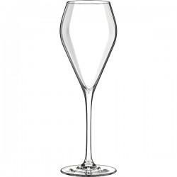 Бокал-флюте «Мод»; хр.стекло; 240мл; D=72, H=215мм; прозр.