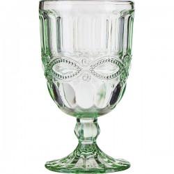 Бокал для вина «Соланж»; 275мл; D=8, H=14см; зелен.