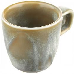 Чашка для эспрессо «Агава»; фарфор; 100мл; D=62, H=85мм; матовый, зелен.