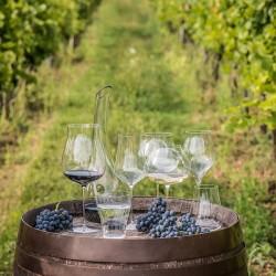 Бокал для вина «Linea umana»; 0, 9л; D=12, 3, H=23, 2см;