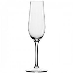 Бокал-флюте «Ивент»; хр.стекло; 195мл; D=68, H=221мм; прозр.