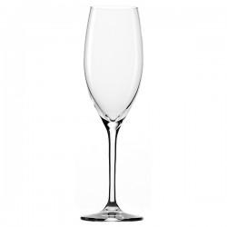 Бокал-флюте «Классик лонг лайф»; хр.стекло; 240мл; D=47, H=216мм; прозр.