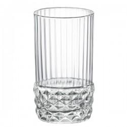 Стопка «Америка 20х»; стекло; 80мл; D=45, H=80мм; прозр.