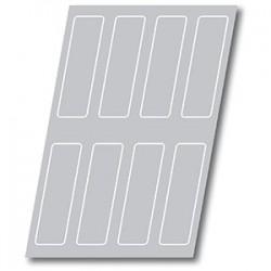 Форма кондитерская «Прямоуг. » 240*70*35мм8шт; силикон; L=60, B=40см