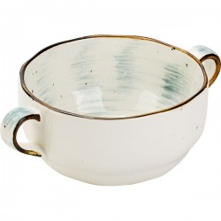 Бульонная чашка 275мл Pastoral зеленая