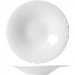 Тарелка для пасты «Монако»; фарфор; 400мл; D=28, 5см; белый