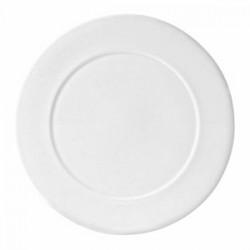 Блюдо круглое «Монако»; фарфор; D=30см; белый