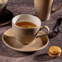 Чашка чайная «Revolution Sandstone»; 350мл; D=10, 5см; песочн.,