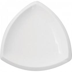 Тарелка треугольная 23*23 см KunstWerk