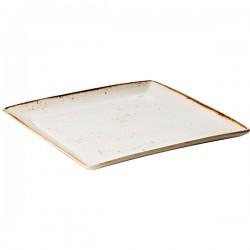 Блюдо квадратное Craft White L=27,B=27см;