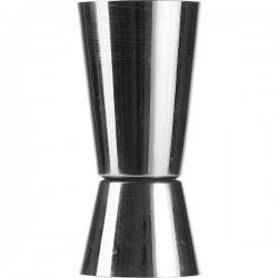 Джиггер 25/50мл с делениями; нержавеющая сталь, D=40, H=87мм