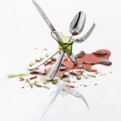 Нож столовый с эргономичной ручкой Anzo