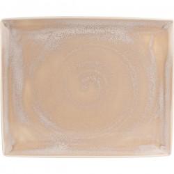 Блюдо сервировочное «Revolution Sandstone»; H=15, L=330, B=270мм;