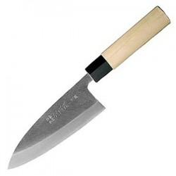Нож Деба Masahiro 16208, 19.5 см, сталь Kigami, рукоять магнолия
