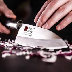 Нож кухонный «Токио» односторонняя заточк; сталь нерж., пластик; L=220/105, B=35мм
