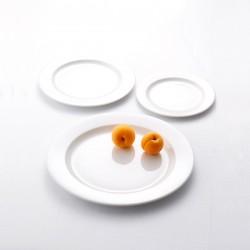 Блюдо овальное «Монако»; фарфор; H=12, L=330, B=260мм; белый