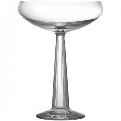 Шампанское-блюдце «Биг топ»; хр.стекло; 235мл; H=15, 1см; прозр.