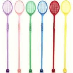 """Мешалка """"Теннисная ракетка"""" 50шт.19см"""