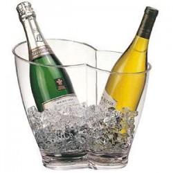 Ведро д/шампанск.на 2 бут.d=30.5*21.5 см