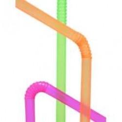 Трубочки классические со сгибом