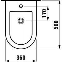 Поднос круг.прорез.d=40.6см коричневый