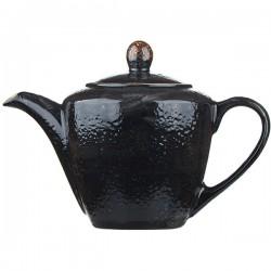 Чайник «Крафт лакрица»; фарфор; 0,6л;